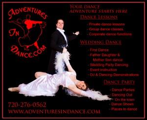 denver,Highlands Ranch, Cherry Hills Wedding Dance Lesson Coaches and Teachers