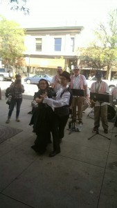 Historic ballroom Dance downtown Littleton scavenger hunt