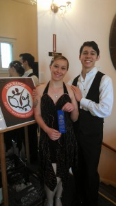 Spring Ballroom dance winners Robyn and William from south Denver, north Highlands Ranch.