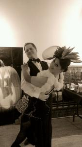 Craig Holly pumpkin ballroom dance dip