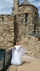 wedding white at Cherokee Castle