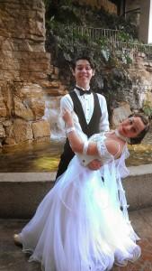 Bill & Robyn ballroom dip