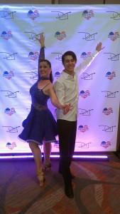 William & Holly Latin ballroom Dance