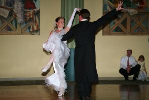 Wedding First Dance Kick