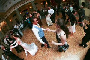 Rock your reception with Dancing