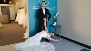 wedding dress trends dance studio