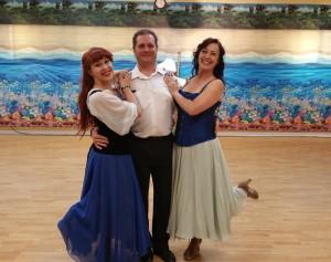 Ariel sailor and Ursula dance