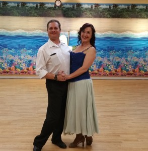 Ursula and Sailor Jig dance