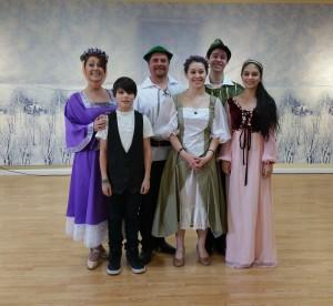Robin Hood merry dancers