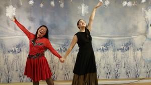 Dancers Shayao Sabrina
