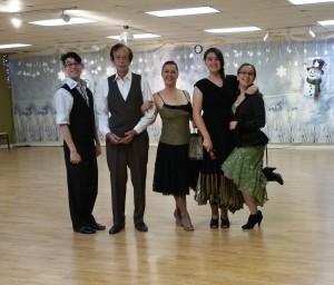 Dance team Holly