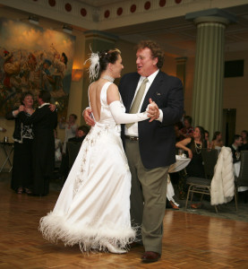 Father-daughter dance.