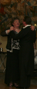 Mother-son dance.