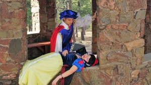 Prince Ferdinand and Snow white