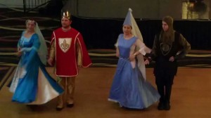 Medieval Saltarello Dance