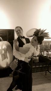 Craig Holly pumpkin ballroom dance dip
