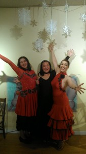 Ballroom Dancers Sabrina, Shayao & Holly