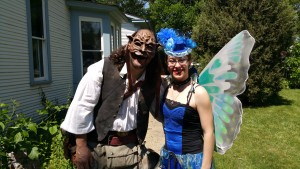 goblin and steam punk fairy