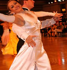 Wedding white ballroom dance happily ever after in denver and highlands ranch