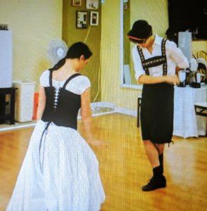 Polka Ballroom Dancers