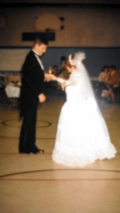 learning Father Daughter dance at wedding