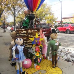 Wizard of oz pumpkin poles historic littleton