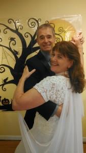 Jim and Linda romantic ballroom Waltz dance
