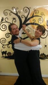 Niloo and Craig ballroom dip