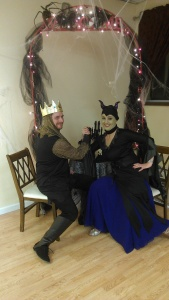 Maleficent paired with King Stephan ballroom dance off