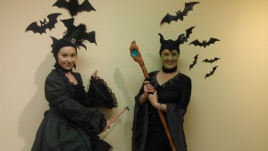 Maleficient and the Wicked Witch of the West Ballroom Dance off