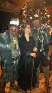 Robyn and Chiminey Sweeps at Dickens Fair
