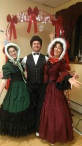 Robyn Craig and Holly victorian christimas