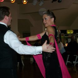 Smooth American Tango Dancers