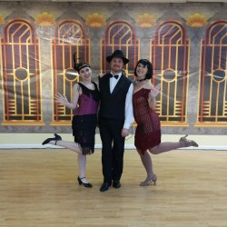 Great Gatsby styled Charleston dancers