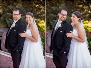 Ryan and Joy wedding graduates