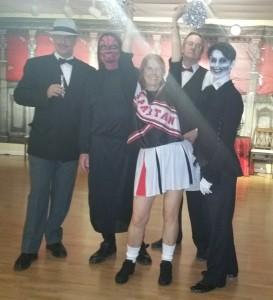 Costume contest winners