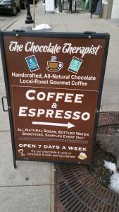 coffee and chcolate