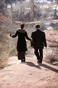 Engagement walk