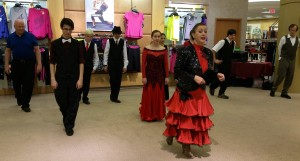 Group line dance