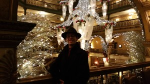 Bill at the Brown Palace