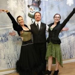 Ballroom Dancers Holly Craig Robyn