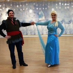 Ballroom dancers Frozen dance Cast Elsa,kristoff,