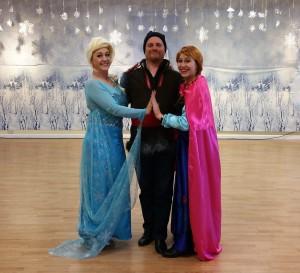 Dance elsa kristoff anna
