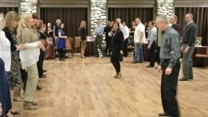 Dancing at the Highlands Ranch Mansion