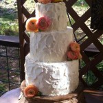 salted sweet wedding cake