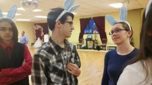 bunny hop dancers