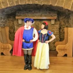 Snow white and Ferdinand dance Boettcher Mansion