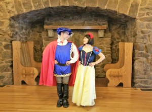 Disney Snow white and Ferdinand do a wedding dance Galliard Boettcher Mansion