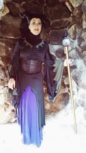 Maleficent at Bishops Castle