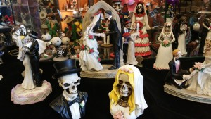 Day of the dead wedding Littleton
